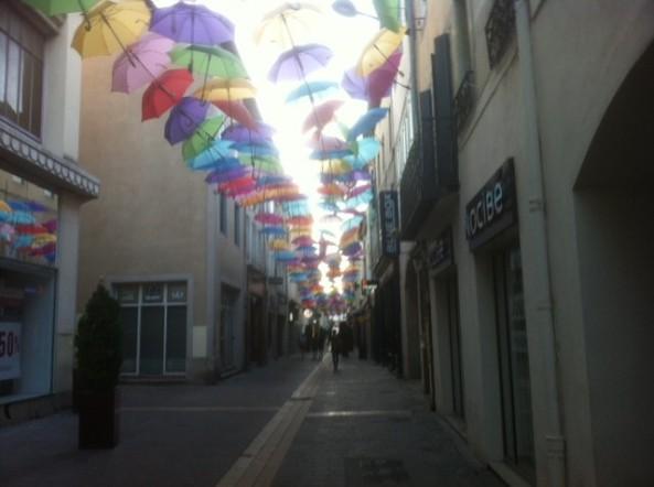 Brollys in Carcassonne