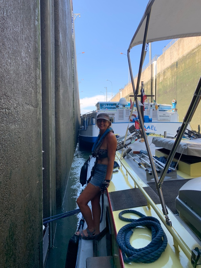 20190830 08 Beaucaire Lock - one down 11 to go
