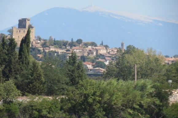 20190902 07 Chateauneuf du Pape and Mont Ventoux