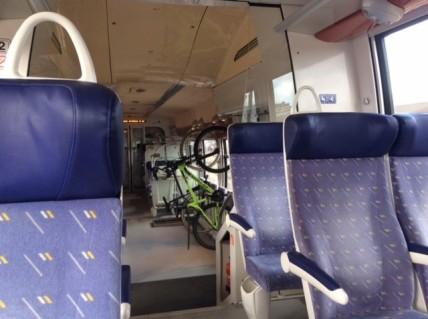 20191002a Bikes on a Train