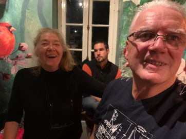 20191004 04 Barbara and Frank Music Session Cafe Merlette