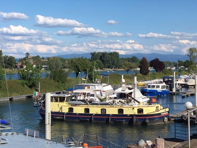 20200711 04 The Port de Plaisance downstream of the Chute de Vogelgrun
