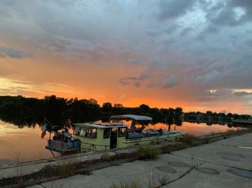 20200724 02 - The quay before Lisdorf Lock