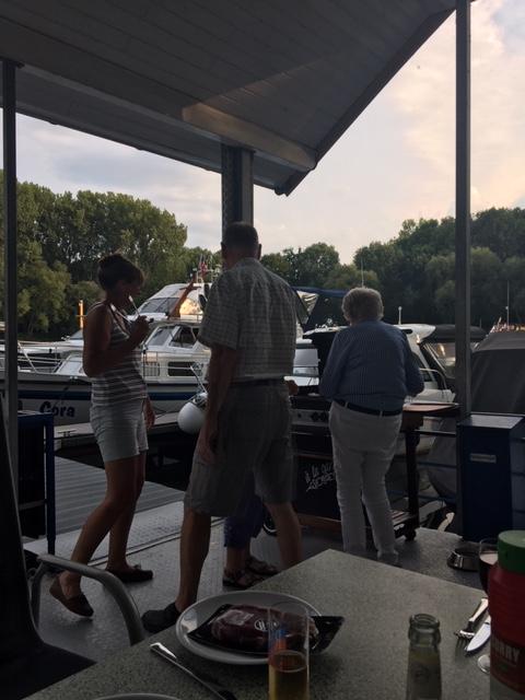 20200801 08 BBQ at Mondorf Yacht Haven